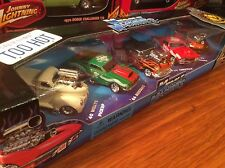 Muscle Machines 2001 Christmas 5 Car Set 1/64. Item 71184