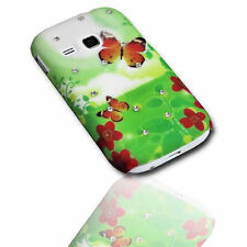 Design Strass No.1 Back Cover Samsung S6310 Galaxy Young + Displayschutzfolie