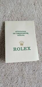 Rolex Paper In Bianco