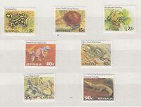 Australia 1982 Reptiles Amphibians Set SG781/787 Mint MNH X9262