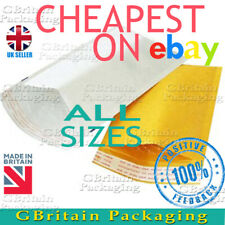 GOLD WHITE BUBBLE PADDED ENVELOPES MAILERS BAGS -:- TOP PRICE -:-