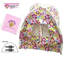 Teddy Bear Clothes fit Girl Build a Bear Teddies Play Tent Plus FREE Storage Bag