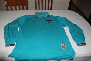 Polo Official Vintage of The F.C Barcelona Of Brand kappa Size L Long Sleeve