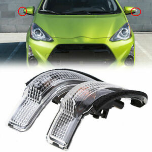 Mirror Blinker Light Turn Signal LED Lamp for Toyota Corolla Prius Venza Camry
