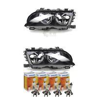 ALOGENO FANALE SET BMW SERIE 3 E46 anno fab. 02/98-08/01 H7/H7 con motore