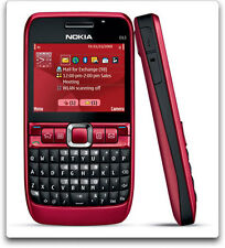Nokia E63 QWERTY Keypad-RED-- Used