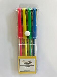 Noteworthy Gel Pens (It's a sloths life) - Includes 4 Assorted Colours PO23960
