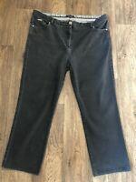 Per Una Grey Stretch Jeans Size 20 L25 Inch