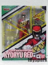 S.H. Figuarts Zyuden Sentai Kyoryuger KYORYU RED power ranger MMPR shf figure