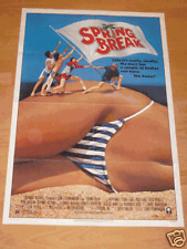 SPRING BREAK ORIGINAL MOVIE POSTER 1983