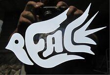 "1 - 4 x 6"" Peace Symbol Dove Decal Sticker Bird White Car Boat Atv Bike 2100"