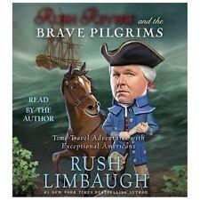 NEW Rush Revere and the Brave Pilgrims Audio Book 4 CD Unabridged Limbaugh Story