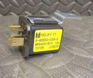 NEW Isuzu Motors 5825500290 Fuel Pump Relay  12 V JIDECO 5-82550-029-0