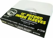 Square Deal Recordings & Supplies 12IW 12 inch Vinyl Record Sleeve - 100 Pack
