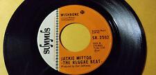 JACKIE MITTOO - WISHBONE CANADIAN REGGAE/FUNK on SUMMUS LABEL