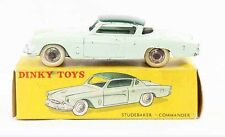 1 / 43 ème DINKY TOYS  STUDEBAKER COMMANDER / jouet ancien
