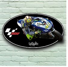 VALENTINO ROSSI 46 THE DOCTOR 2FT PICTURE SIGN WALL PLAQUE 5mm PLASTIC MOTO GP