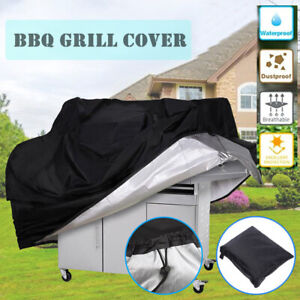 Large BBQ Gas Grill Cover Barbecue Waterproof Outdoor Heavy Duty Protection