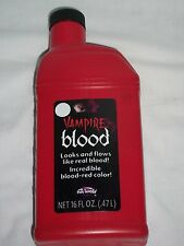 Pint Bottle Stage Fake Vampire Blood Halloween Costume Theatrical Prop Stage Cut