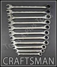 Craftsman Tools 11pc Full Polish 72 Tooth Metric Mm Ratcheting Box Wrench Set