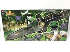 Legacy Dragon Dagger Mighty Morphin Power Rangers Green Dragonzord New SEALED
