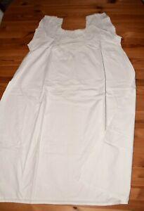 Altes Damen Unterhemd Spitze Unterwäsche Nachthemd vor 1945 Trachten (7301)