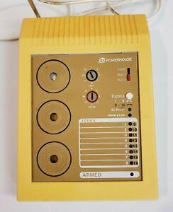Powerhouse X-10 ND651 Personal Voice Dialer Home Security Console Base Unit