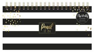 Flip Over To Do List Weekly Planner Desk Top Organiser Landscape Note Book PNWP