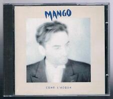 MANGO COME L'ACQUA FONIT CETRA 1992  CD