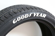 """Tire Lettering  - GOOD YEAR - 1.5"""" For 17"""" and 18"""" Wheels (4 decals)"""