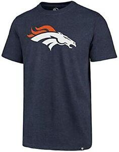 Denver Broncos Men's Super Rival Team Logo T-Shirt - Navy