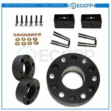 6X 2'' 6x5.5 Wheel Spacers & 3'' Front 2'' Rear Leveling Lift Kit For Chevrolet
