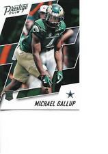 2018 Prestige Michael Gallup Rookie RC