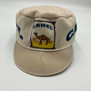 Vintage Camel Cigarettes Painters Hat Cap 80s