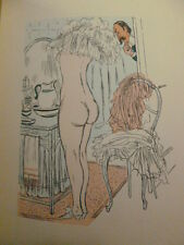 LA VIE DE MÉNAGE  Georges Courteline numéroté avec suite des 8 gravures couleurs