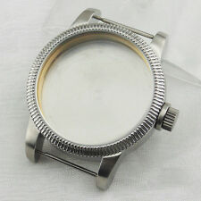 46mm stainless steel watch case for eta 6497 6498 Seagull st36 movement P516