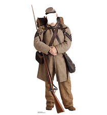 CONFEDERATE CIVIL WAR SOLDIER - LIFE SIZE STAND-IN/CUTOUT BRAND NEW - PARTY 1970