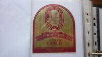 OLD AUSTRALIAN BEER LABEL, GRAND RIDGE BREWERY MIRBOO NORTH 1990s GOLD 1
