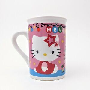 Hello Kitty Mug Christmas Tree and Lights Sanrio 2014