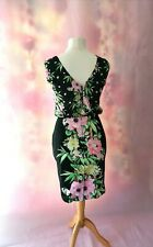 Size 10 French Connection Dress, Floral, Fitted style, Knee length, RRP £140