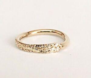 Cartilage Earring Helix Hoop 9K 14K 18K Yellow Rose Gold Piercing 18g 16g Ring