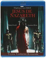Jesus of Nazareth Restored Latin Spanish NTSC 2 Blu Ray Boxset