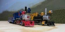 """Pair of Bachman On30 """"Colorful"""" 2-6-0 Steam Engines"""