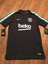 FC Barcelona Fussball Trainingsshirt   Neu   Nike   Dunkellila   Größe XXL