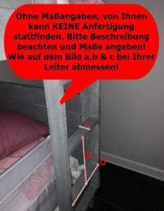 Treppenschutz Leiterschutz Hochbett Kletterschutz Fallschutz Etagenbett nach Maß