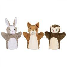 im Salatblatt 3 Stück Fingerpuppen XL Set /_ große Handpuppe Hase Kaninchen