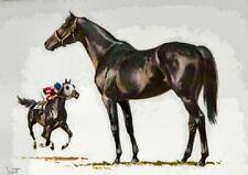 1962 THOROUGHBRED Horse Print Sam Savitt - BEST OFFER