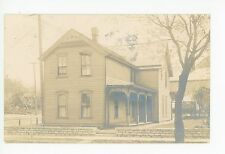 Wooden House in St. Paul RPPC Antique Victorian Architecture Photo 1910