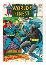 WORLDS FINEST 182 (VF/NM) THE MAD MANHUNTER  (FREE SHIPPING) *