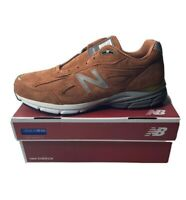 "New Balance 990V4 Running Shoes Jupiter ""Burnt Orange"" M990JP4 Men's Size 13 New"